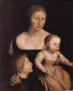 The artist s wife abuse Hans Holbein