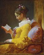 A Young Girl Reading Jean-Honore Fragonard