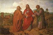 The walk to Emmaus Joseph von Fuhrich