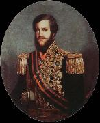 portrait of emperor pedro ll Miranda, Juan Carreno de