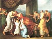 Death of Alcestis Angelica Kauffmann