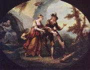 Miranda and Ferdinand in The Tempest Angelica Kauffmann