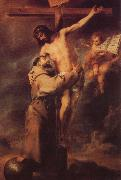 Jesus on the Cross Bartolome Esteban Murillo