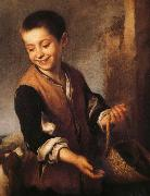 Juvenile and Dogs Bartolome Esteban Murillo