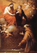 Jesus and Our Lady of St. Francis Koch Bartolome Esteban Murillo