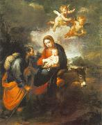 Flight into Egypt Bartolome Esteban Murillo