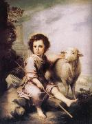 Good shepherd Bartolome Esteban Murillo