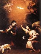 Angel messenger Bartolome Esteban Murillo