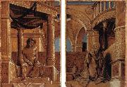 Diptych with Christ and the Mater Dolorosa HOLBEIN, Hans the Younger