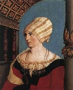 Portrait of Dorothea Meyer HOLBEIN, Hans the Younger
