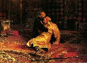 Ivan the Terrible and his son Ivan on Friday, November 16 Ilya Repin