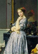 Louise de Broglie, Countess d Haussonville Jean Auguste Dominique Ingres
