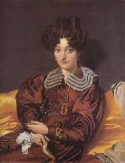 Madame Marie Marcotte Jean Auguste Dominique Ingres