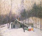 A Snowy Monday Lilla Cabot Perry