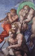 Last Judgment Michelangelo Buonarroti