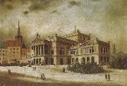 the leipzig opera house in the augstusplatz arthur o shaughnessy