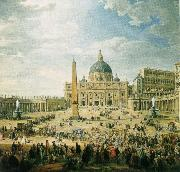 the square in front of st peter s basilica in rome wolfgang amadeus mozart