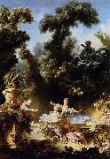 The Progress of Love: The Pursuit Jean-Honore Fragonard