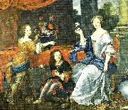 mlle de lavalliere and her children, c Pierre Mignard