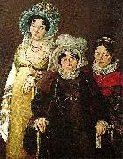 mme morel de tangry and her daughters Sir David Wilkie
