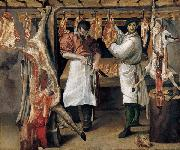 The Butchers Shop Annibale Carracci
