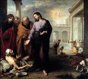 Christ healing the Paralytic at the Pool of Bethesda Bartolome Esteban Murillo