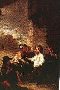homas of Villanueva dividing his clothes among beggar boys Bartolome Esteban Murillo