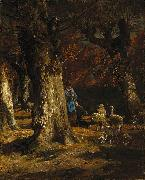 The Old Forest Charles Jacque