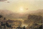 The Andes of Ecuador Frederic Edwin Church