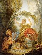 The See-Saw Jean-Honore Fragonard