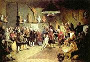 the founders of the royal academy of arts Johann Zoffany