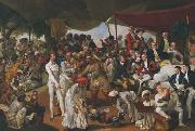 Cockfight in Lucknow Johann Zoffany