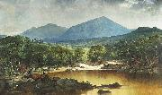 River in a Mountain Landscape John Mix Stanley