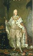 Portrait of Adolf Frederick, King of Sweden (1710-1771) in coronation robes Lorens Pasch the Younger