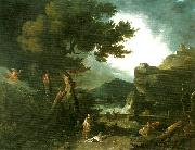 the destruction of the children of niobe Richard Wilson