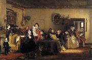 Reading the Will Sir David Wilkie