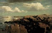 After a Shower -- Nahant, Massachusetts William Stanley Haseltine