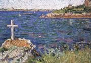 the mariners cross at high tide impressionist painter