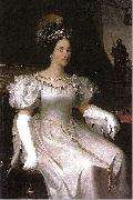 Portrait of Maria Beatrix Victoria of Savoia Adeodato Malatesta