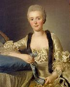 Portrait of Margaretha Bachofen-Heitz, wife of the Basle Ribbon merchant Alexander Roslin
