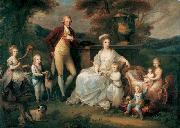 Portrait of Ferdinand IV of Naples, and his Family Angelica Kauffmann
