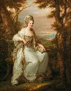 Portrait of Lady Henderson of Fordell Angelica Kauffmann