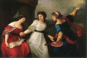 Self-portrait Hesitating between the Arts of Music and Painting Angelica Kauffmann