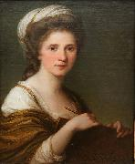 Self portrait Angelica Kauffmann