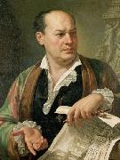 Posthumous portrait of Giovanni Battista Piranesi Carlo Labruzzi