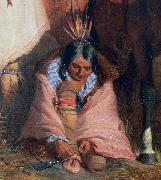 A Group of Sioux, detail Charles Deas