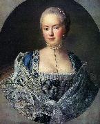 Portrait of Countess Darya Petrovna Saltykova Francois-Hubert Drouais