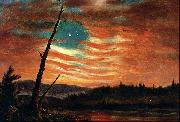 Our Banner in the Sky Frederick Edwin Church