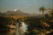 View of Cotopaxi Frederick Edwin Church