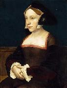 Portrait of an English Lady HOLBEIN, Hans the Younger